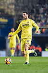 Roberto Soriano of Villarreal CF in action during their La Liga match between Villarreal and FC Barcelona at the Estadio de la Cerámica on 08 January 2017 in Villarreal, Spain. Photo by Maria Jose Segovia Carmona / Power Sport Images