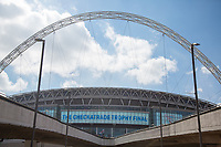 Wembley Stadium ahead of the The Checkatrade Trophy / EFL Trophy FINAL match between Oxford United and Coventry City at Wembley Stadium, London, England on 2 April 2017. Photo by Andy Rowland.