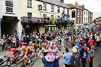 Picture by SWpix.com - 03/05/2018 - Cycling - 2018 Tour de Yorkshire - Stage 1: Beverley to Doncaster - The Peloton passes through Pocklington