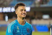 San Jose, CA - Tuesday January 05, 2016: JT Marcinkowski during a Major League Soccer (MLS) match between the San Jose Earthquakes and Atlanta United FC at Avaya Stadium.