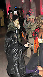 October 31st 2012 <br /> <br /> <br /> Jack Osbourne wearing a military cammo uniform costume at the Maroon Five Halloween party at the Hollywood Forever cemetery.<br /> <br /> Adrian Grenier dressed as a white ninja warrior carrying a samurai sword <br /> <br /> Alessandra Ambrosio was in full disguise covered head to toe in long net lace string carrying a big yellow banana <br /> <br /> Breckin Meyer dressed as an orange tiger <br /> <br /> AbilityFilms@yahoo.com<br /> 805 427 3519<br /> www.AbilityFilms.com