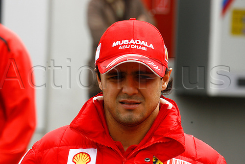 12th July 2009 N¸rburgring, Germany - Felipe Massa (BRA), Scuderia Ferrari, Portrait - Formula 1 World Championship - German Grand Prix 2009 at Nuerburgring Circuit, Photo by: Mirko Stange/ActionPlus UK Licenses Only