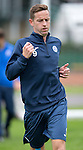 St Johnstone FC Training...<br /> Steven MacLean<br /> Picture by Graeme Hart.<br /> Copyright Perthshire Picture Agency<br /> Tel: 01738 623350  Mobile: 07990 594431