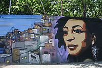 11.10.2019 - Grafite de Marielle Franco em SP