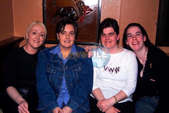 Barbara Thornton,Tanya Healy,Stephine Handratty and Bellha Rashid in The Trinity Arms...Pic Newsfile