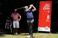 Lorenzo Gagli (ITA) in action during previews ahead of the Magical Kenya Open, Karen Country Club, Nairobi, Kenya. 12/03/2019<br /> Picture: Golffile | Phil Inglis<br /> <br /> <br /> All photo usage must carry mandatory copyright credit (&copy; Golffile | Phil Inglis)