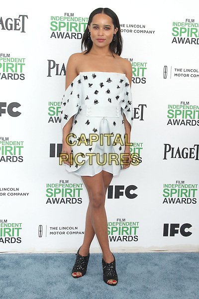 1 March 2014 - Santa Monica, California - Zoe Kravitz. 2014 Film Independent Spirit Awards held at Santa Monica Beach. <br /> CAP/ADM/RE<br /> &copy;Russ Elliot/AdMedia/Capital Pictures