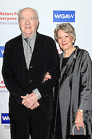 BEVERLY HILLS - JUN 12: Richard Herd, Patricia Herd at The Actors Fund's 20th Annual Tony Awards Viewing Party at the Beverly Hilton Hotel on June 12, 2016 in Beverly Hills, California