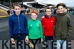 James McEneaney, Danny Breen, David Lynch and Brodie Stack, all from Listowel, enjoying a day out at the Listowel Races on Sunday last.