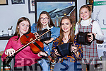 Keavegh O'Donnell, Emma Flynn, Maura o'Connor and Marie Flynn th who entertained the crowd at the Dan Murphy tribute Handed Down concert in Scartaglen on Saturday night