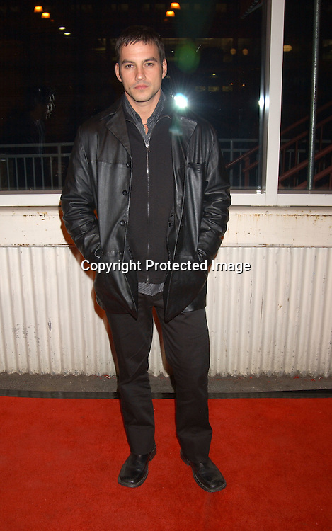 Tyler Christopher                                                  ..at the ABC Casino Night on October 23, 2003 at the ..Lighthouse at Chelsea Piers. Photo by Robin Platzer, ..Twin Images