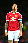 Marcos Rojo of Manchester United dejected - Barclay's Premier League - Manchester United vs Watford - Old Trafford - Manchester - 02/03/2016 Pic Philip Oldham/SportImage