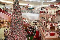 ATENÇÃO EDITOR: FOTO EMBARGADA PARA VEÍCULOS INTERNACIONAIS. SAO PAULO, SP, 22 DE DEZEMBRO DE 2012. MOVIMENTACAO DE NATAL. Paulistano faz compras de natal na noite deste sabado, no shopping Eldorado na zona oeste paulista.  FOTO ADRIANA SPACA BRAZIL PHOTO PRESS