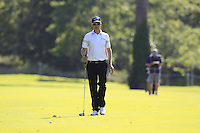 Mikko Ilonen (FIN) walks to his 2nd shot on the 18th hole during Friday's Round 2 of the 2014 Irish Open held at Fota Island Resort, Cork, Ireland. 20th June 2014.<br /> Picture: Eoin Clarke www.golffile.ie