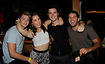 Eddie & Kristen Alderson, Bryan Craig, Kelly Thiebaud, Chad Duell at 15th Southwest Florida Soapfest 2014 Charity Weekend with a Bartending/Karaoke get together on May 26, 2104 at Porky's, Marco Island, Florida. (Photo by Sue Coflin/Max Photos)