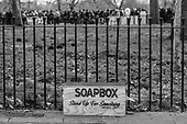 Soapbox, Speakers' Corner, Hyde Park, London.