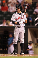 Indianapolis Indians outfielder Andrew Lambo #24 during a game against the Rochester Red Wings at Frontier Field on June 18, 2011 in Rochester, New York.  Rochester defeated Indianapolis 12-7.  (Mike Janes/Four Seam Images)