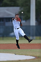 Francisco Reynoso (65) of Colegio Angel David High School in San Juan, Puerto Rico during the Under Armour Baseball Factory National Showcase, Florida, presented by Baseball Factory on June 13, 2018 the Joe DiMaggio Sports Complex in Clearwater, Florida.  (Nathan Ray/Four Seam Images)