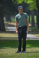 Thomas Pieters (BEL) looks over his chip from the trees on 11  during round 2 of the World Golf Championships, Mexico, Club De Golf Chapultepec, Mexico City, Mexico. 3/2/2018.<br /> Picture: Golffile | Ken Murray<br /> <br /> <br /> All photo usage must carry mandatory copyright credit (&copy; Golffile | Ken Murray)