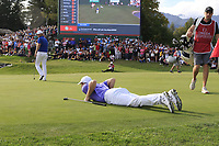 during Sunday's Final Round 4 of the 2018 Omega European Masters, held at the Golf Club Crans-Sur-Sierre, Crans Montana, Switzerland. 9th September 2018.<br /> Picture: Eoin Clarke | Golffile<br /> <br /> <br /> All photos usage must carry mandatory copyright credit (© Golffile | Eoin Clarke)