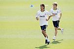 MADRID (11/08/2010).- Real Madrid training session at Valdebebas. Sami Khedira and Sergio Canales...Photo: Cesar Cebolla / ALFAQUI