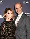 CULVER CITY, CA - NOVEMBER 11: Actress Sasha Alexander (L) and director Edoardo Ponti attend the 2017 Baby2Baby Gala at 3Labs on November 11, 2017 in Culver City, California.