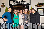 Lorraine Mason from Caherleaheen, Tralee who is celebrating her 30th birthday with the Fexco Crew at Bella Bia's on Saturday. Pictured Ashling O Connell, Joan Griffin, Lorraine Mason, Blanaid Whelan  Pauline Houlihan, Mary Fitzpatrick, Briget Cremins Scannel and Rachel Foran