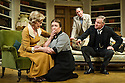 Bath, UK. 17.06.2013. RELATIVE VALUES, by Noel Coward, opens the 2013 summer season at the Theatre Royal Bath. Picture shows: Patricia Hodge (Felicity, Countess of Marshwood), Caroline Quentin (Moxie, the housemaid), Steven Pacey (Peter Ingleton) and Rory Bremner (Crestwell, the butler). Photograph © Jane Hobson.