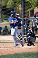 Jose Tabata - Los Angeles Dodgers 2016 spring training (Bill Mitchell)
