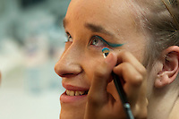 """Make up sessions.  Special Olympics Surrey put on a show,   """"Beyond the Stars"""", at the Rose Theatre, Kingston upon Thames to raise money for the  SOGB team.  The Special Olympics are for athletes with learning disabilities."""