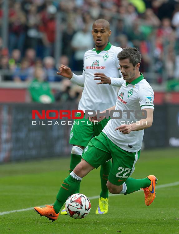 09.05.2015, HDI Arena, Hannover, GER, 1.FBL, Hannover 96 vs Werder Bremen, im Bild Fin Bartels (Bremen #22)<br /> <br /> Foto &copy; nordphoto / Frisch