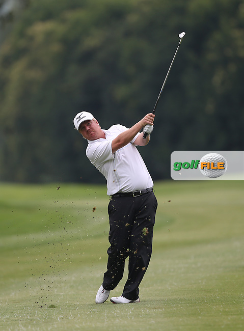 Ross McGowan (ENG) back in the tour fold with a par during Round One of The Joburg Open 2014 at the Royal Johannesburg & Kensington Golf Club, Gauteng, South Africa. Picture:  David Lloyd / www.golffile.ie