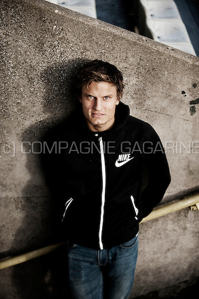 Belgian football player Jelle Vossen (Belgium, 23/11/2015)