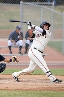 Hector Sanchez - San Francisco Giants - 2010 Instructional League.Photo by:  Bill Mitchell/Four Seam Images..