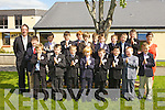 Pupils from Ms. Niamh Shanahan's  2nd class in Holy Family national school who made their First Holy Communion on Saturday in St Brendan's Church, Tralee from front l-r were: Ben Quilter, Eric McMahon, Luke Allen, Patrick Moraski, Louis Tobin Monaghan, Geralrd Galvin, Adam O'Connor, Matthew Sweeney and Ben O'Brien. .Back l-r were: Odhran Cronin, Gary Flynn, Sam McCarthy, Dylan Clapham, Alan O'Connor, Adam Murphy, Keith Enright, Daniel Higgins and Callum Horgan.