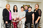 Enjoying a staff night out from the NEKD on Saturday night  in the Brogue were l-r Elaine McKenna, Marie Deenehy, Liz O'Carroll, Eamon O'Reilly, Christina Selina and Patricia Dowling.