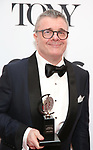 Nathan Lane poses in the 72nd Annual Tony Awards Press Room at 3 West Club on June 10, 2018 in New York City.