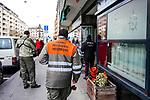 Gen&egrave;ve, le 12.03.2018<br />Rue de la Servette, un batiment  a subit un incendie. Une centaine d&rsquo;habitants doivent &ecirc;tre relog&eacute;s.<br />&copy; Le Courrier / J.-P. Di Silvestro