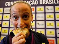 Fabi Jogadoras da seleção brasileira feminina de vôlei, durante entrevista coletiva nesta SEGUNDA-FEIRA (13)  no Hotel Marriot Guarulhos.FOTO ALE VIANNA/BRAZIL PHOTO PRESS