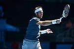 Juan Martin Del Potro (ARG) loses at Australian Open in Melbourne Australia on 19th January 2013