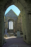 Historic ruins of Timoleague Friary, County Cork, Ireland, Irish Republic