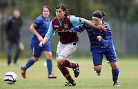 120923 West Ham Utd Ladies Res v Cardiff City Ladies Res