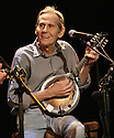 NEW YORK - OCTOBER 15: Musician Levon Helm performs the Country Music Hall of  Fame & Museum's 2nd Annual All for The Hall NY Benefit at Nokia Theater on October 15, 2008 in New York City.  (Photo by Soul Brother/FilmMagic)