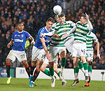 08.11.2019 League Cup Final, Rangers v Celtic: Nikola Katic and Ryan Christie
