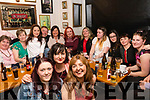 In Bunkers, Killorglin on Saturday we found the loyal staff of Jones' Eurospar being treated to night out by Brian & Michelle Jones (seated centre) by for being named Best Eurospar in Ireland