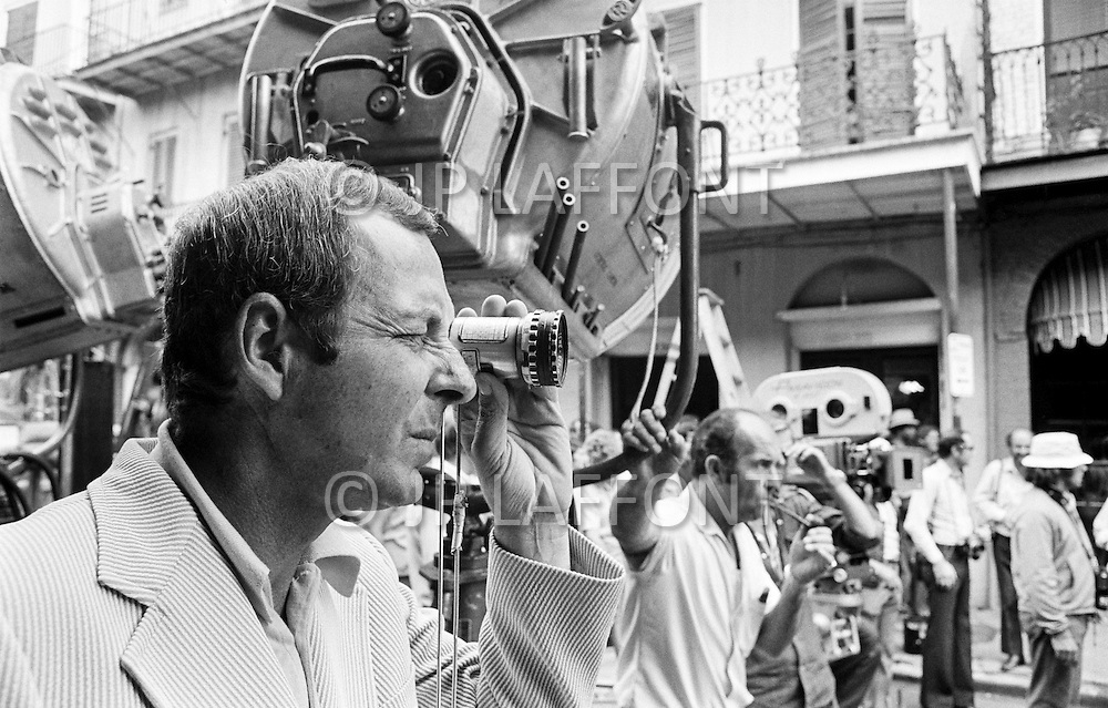 01 Nov 1972, New Orleans, Louisiana, USA --- The director Guy Hamilton on the set of his film Live and Let Die, based on Ian Fleming's novel. --- Image by © JP Laffont