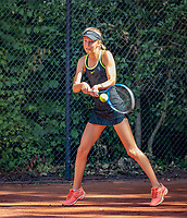 Hilversum, Netherlands, August 6, 2018, National Junior Championships, NJK, Bente Patist (NED)<br /> Photo: Tennisimages/Henk Koster