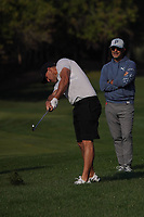 Brooks Koepka (USA) on the 10th during the Pro-Am of the Abu Dhabi HSBC Championship 2020 at the Abu Dhabi Golf Club, Abu Dhabi, United Arab Emirates. 15/01/2020<br /> Picture: Golffile | Thos Caffrey<br /> <br /> <br /> All photo usage must carry mandatory copyright credit (© Golffile | Thos Caffrey)