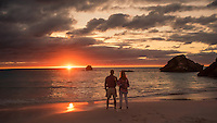 Pete and Kerin sunrise Bermuda