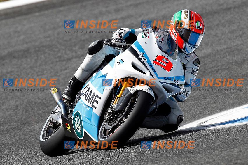 .04-05-2012 Estoril (POR).Motogp - moto.in the picture: Danilo Petrucci - Ioda racing Project CRT .Foto Semedia/Insidefoto